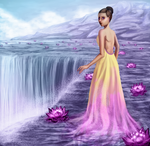 Dreaming of water lilies by chabbix