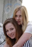 inseparable girl friends by tanja1983