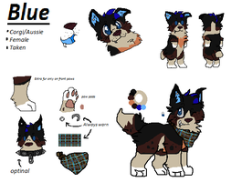 Blue Reference by B-I-U-E