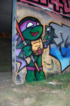 Donatello in the Streets by dadouX