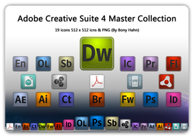 Adobe CS4 Master Collection by bonyhahn