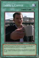 Ianto's Coffee Yu-Gi-Oh Card by wilsonlicious