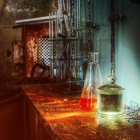 Abandoned laboratory by Remiorski