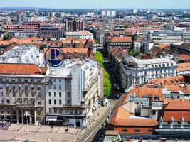 Panorama of Zagreb by ordinarygirl1