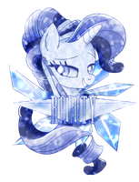 Crystal Rarity Shirt Design by Ilona-the-Sinister
