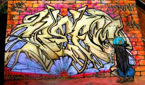 Cream Graffiti - Blackbook by 23RA