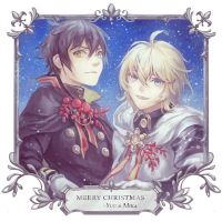 Merry Christmas from Yuu and Mika! by folie-0885