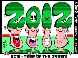 2012 - Year Of The Green by tony-p-power