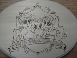 Cutiemark crusaders mlp woodburn by plantigradecnidarian