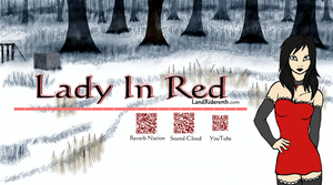Lady In Red Social Cover by LandRiders7th