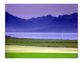 Arran From Kingarth by paddimir