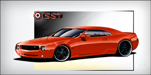 AMC Javelin SST by compaan-art