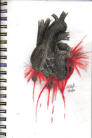Blackened Heart by o-Sparticaus-o