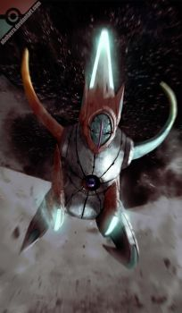 Deoxys Speed form by AbelVera