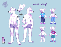 cool dog! by VCR-WOLFE