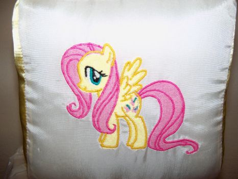 FLUTTERSHY plush pillow cube! by davidbillups