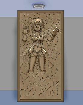 Bullet in Carbonite by Master-Geass
