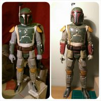 toy boba fett painting  by Matson23