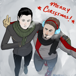 Merry Christmas 2014 by Batwynn