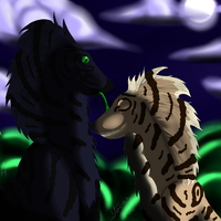 A King and His Queen by Darkblaze3