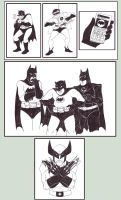 Weeks 35 to 37 - BICS Batmen by ryuuza-art