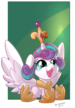 Tsitra360 Request Stream - Princess Flurryheart by vest