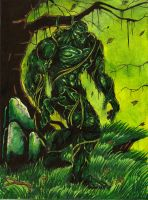 Swamp Thing by BlackCoatl
