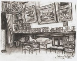 The Palisander Drawing Room... by I-TsarevichAlexei13