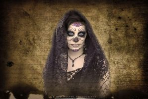 Sugar Skull Glam by Anesthetic-X