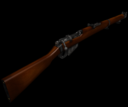 Enfield SMLE finished by Volcol