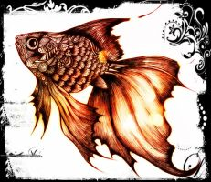 Gold Fish II by nadzie