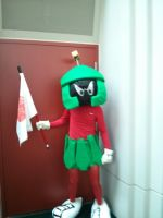 Marvin the Martian Salt Lake Comic Con by Demonyoshi