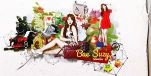 Suzy wallpaper by KwonLee