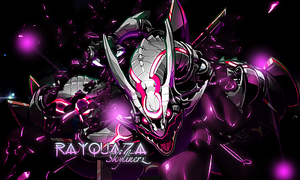 Rayquaza Signature/Tag by SkylinerzEx