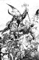 Orc Shaman Horde by JasonMetcalf