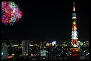 Fireworks to the Future. by fbz