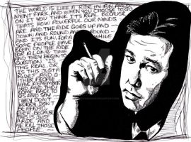Bill Hicks by landofsunshine
