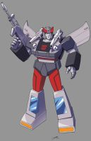 Bluestreak: Transformers by ZeroMayhem