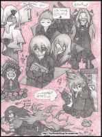 Advent Children Chibi Party by Manasurge