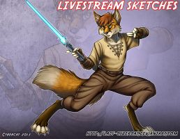 Sept Livestream Sketch Commissions 5 by lady-cybercat