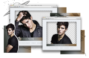 Pack Png 909 // Wade Poezyn. by ExoticPngs