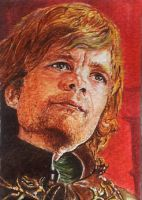 Tyrion Lannister - watercolor by Giselle-M