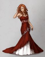 girl by Krasharkk