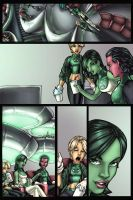Green Lantern Corps pg.2 by AdamWithers