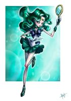 Sailor Neptune by obscureBT