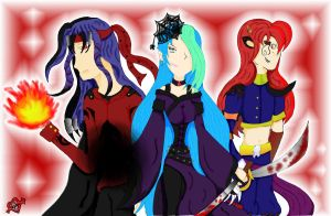 The All-Powerfuls - Color by FallenLoveAngel