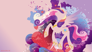 Cadance Silhouette Wall by SpaceKitty