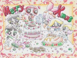 For my Friend : PPG Xmas card by Yang-Mei