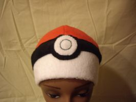 Pokeball hat by FleeceMonster
