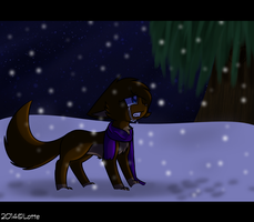 Quiet like the snow -redraw- by Lottenya